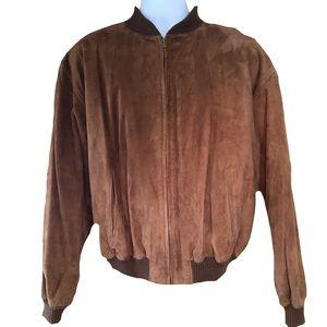 ❣️HP❣️Perry Ellis Leather Jacket Size 44
